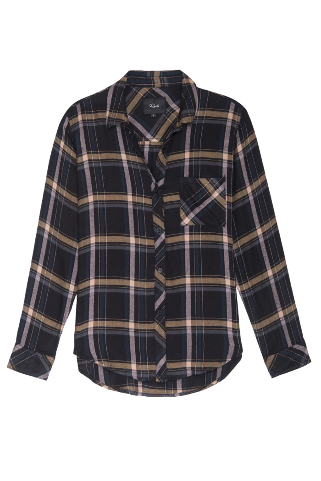 Rails Clothing Hunter Button Down - Back Cropped Image