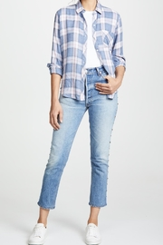 Rails Hunter Button Down - Back cropped
