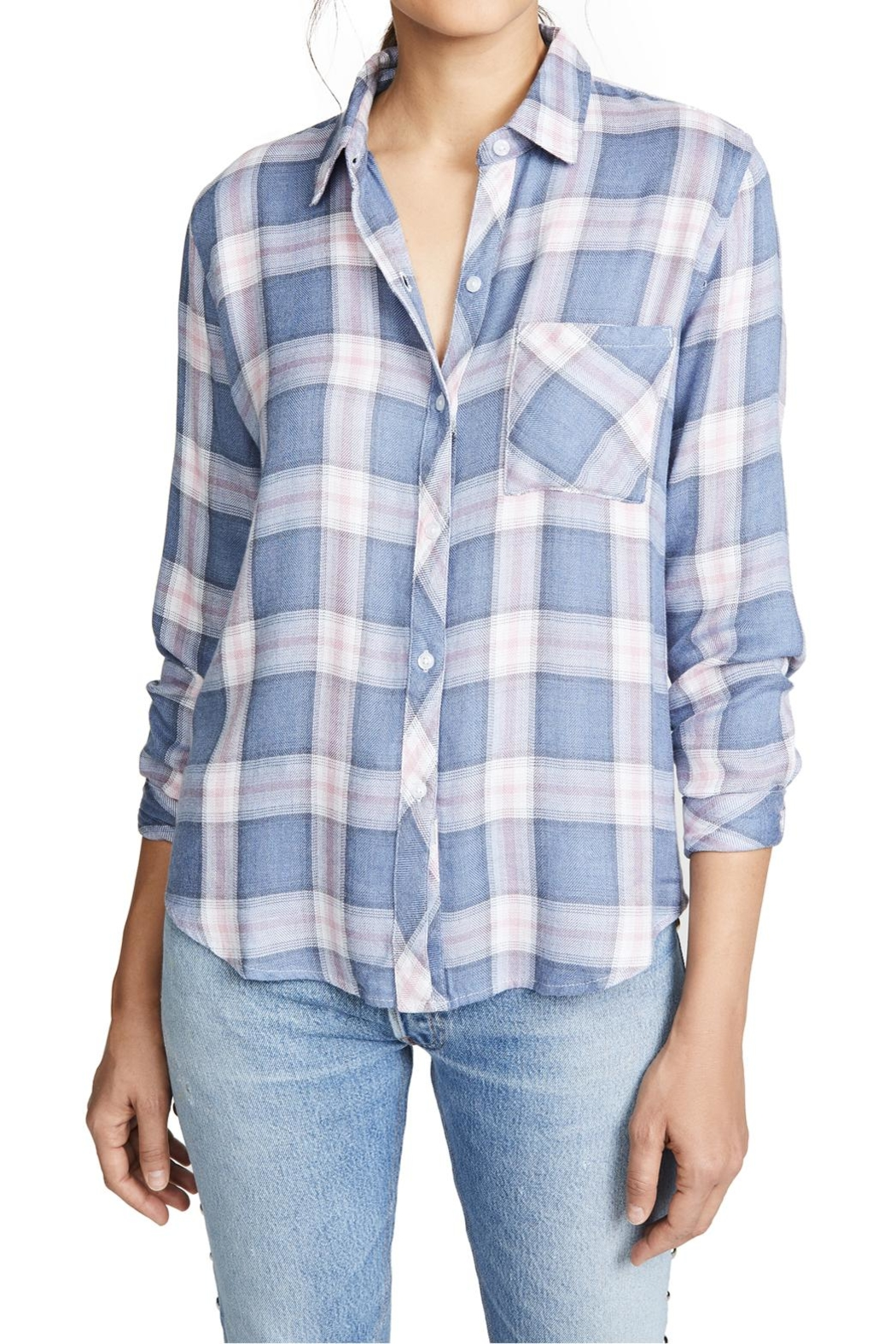 Rails Hunter Button Down - Front Cropped Image