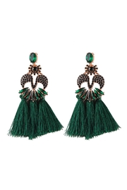 Madison Avenue Accessories Hunter Earring - Product Mini Image