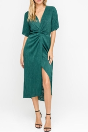 Lush Hunter Green Dress - Product Mini Image