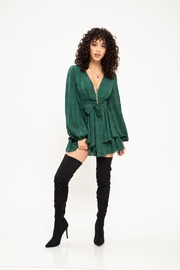 Latiste Hunter Green Dress - Product Mini Image