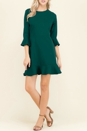 Izzie's Boutique Hunter Green Dress - Product Mini Image