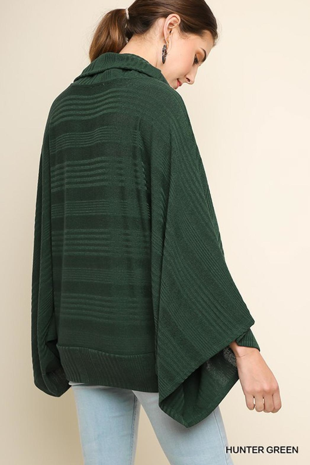 Umgee USA Hunter Green Sweater - Front Full Image