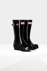 Hunter Boots HUNTER ORIGINAL KIDS GLOSS RAINBOOTS - Front full body
