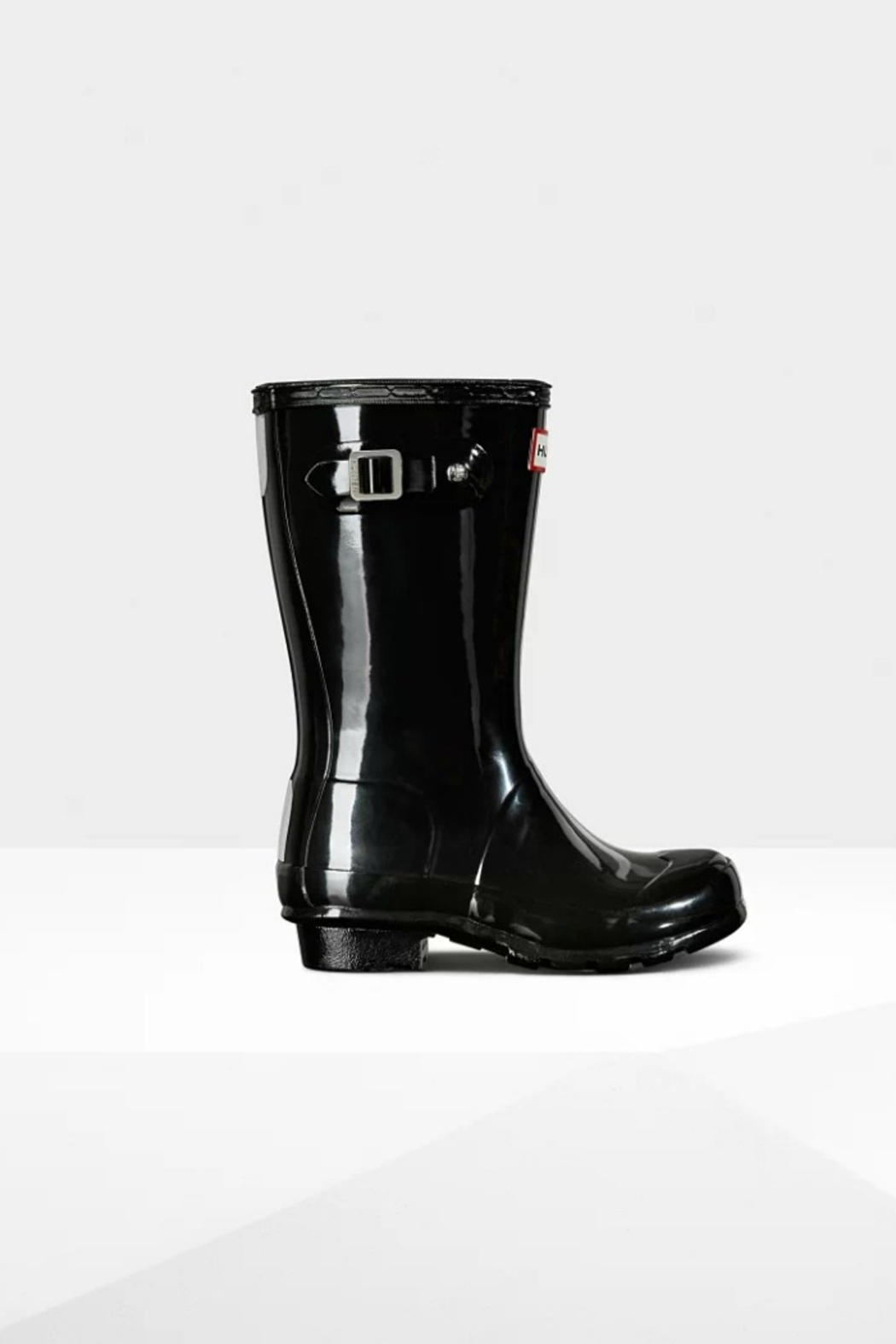 Hunter Boots HUNTER ORIGINAL KIDS GLOSS RAINBOOTS - Front Cropped Image
