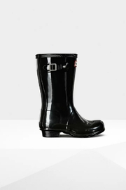 Hunter Boots HUNTER ORIGINAL KIDS GLOSS RAINBOOTS - Front cropped