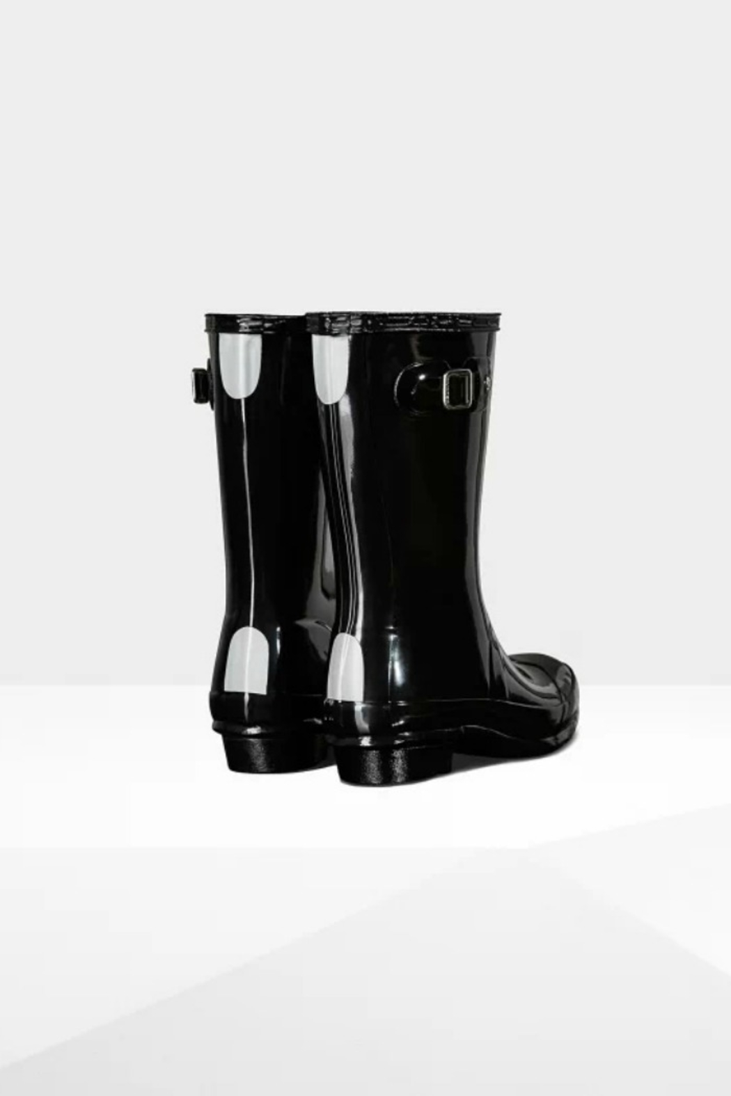 Hunter Boots HUNTER ORIGINAL KIDS GLOSS RAINBOOTS - Side Cropped Image