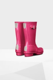 Hunter Boots HUNTER ORIGINAL KIDS GLOSS RAINBOOTS - Side cropped