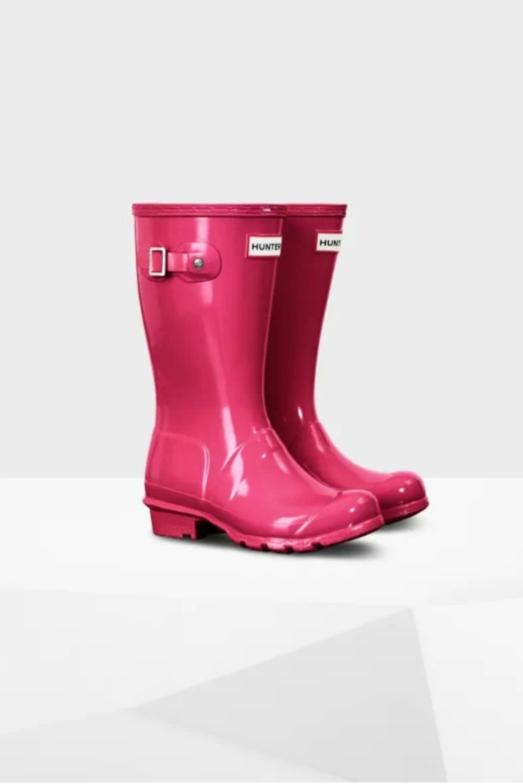 Hunter Boots HUNTER ORIGINAL KIDS GLOSS RAINBOOTS - Front Full Image