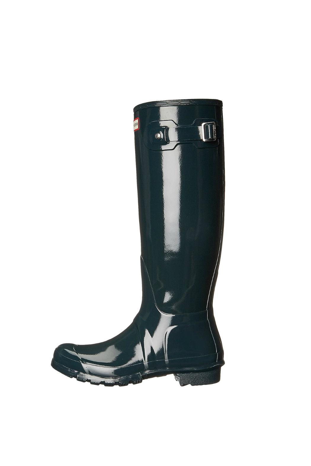 Hunter Tall Gloss Rainboot - Front Cropped Image