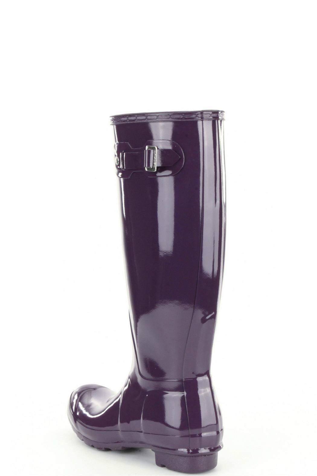 Hunter Tall Gloss Rainboot - Front Full Image