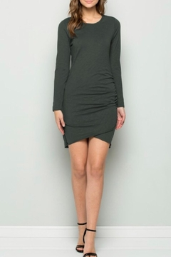 Shoptiques Product: Hunter Side-Ruched Dress