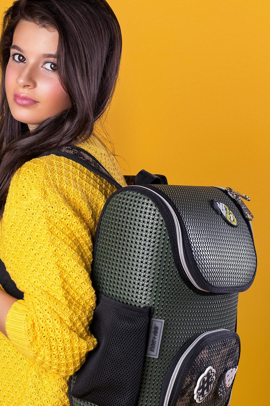 R+D Hipster Emporium  Hunter Small Backpack - Front Full Image