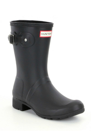 Hunter Boots HUNTER WOMEN ORIGINAL SHORT MATTE - Front full body