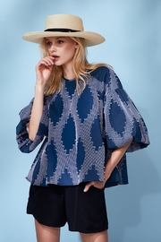Hunter Bell New York Puff Sleeves Top - Product Mini Image
