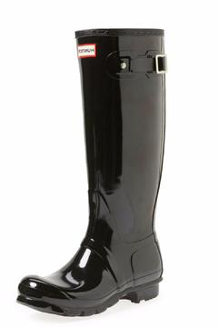 Shoptiques Product: Tall Adjustable Rubber Boot