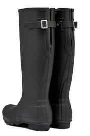 Hunter Boots Back Adjustable Welly - Front full body