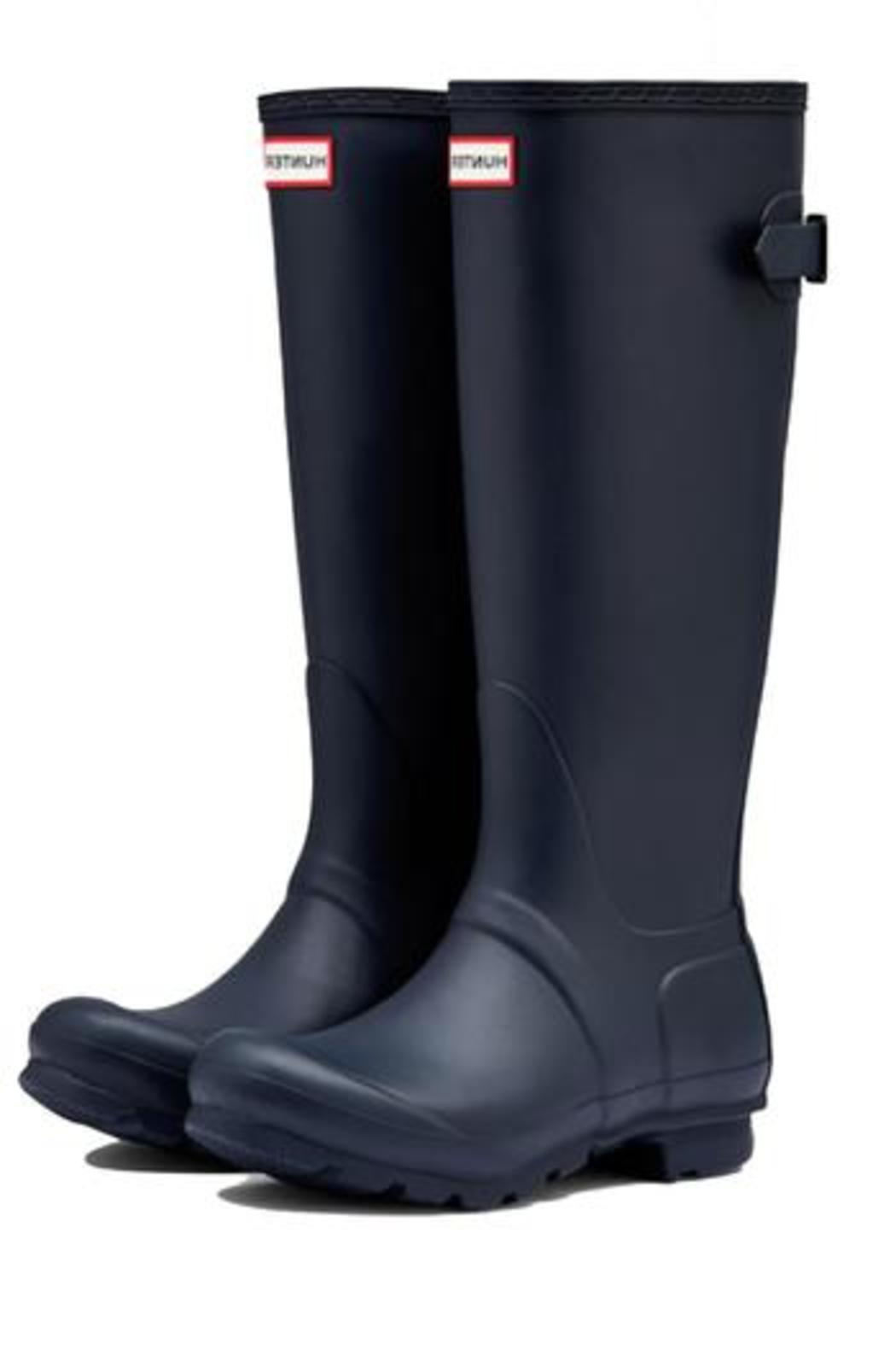 Hunter Boots Back Adjustable Welly - Side Cropped Image