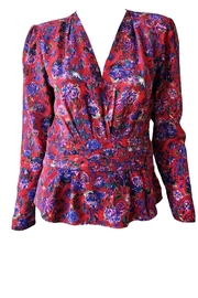 IRO Hurl Printed Blouse - Product Mini Image