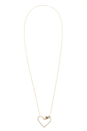 Hurricane Ltd. Gold Maui Necklace - Front cropped