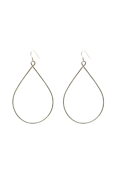Shoptiques Product: Maui Teardrop Hoops