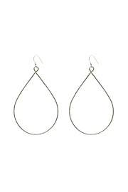 Hurricane Ltd. Maui Teardrop Hoops - Product Mini Image