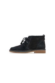 Hush Puppies Slippers Suede Bootie - Front cropped