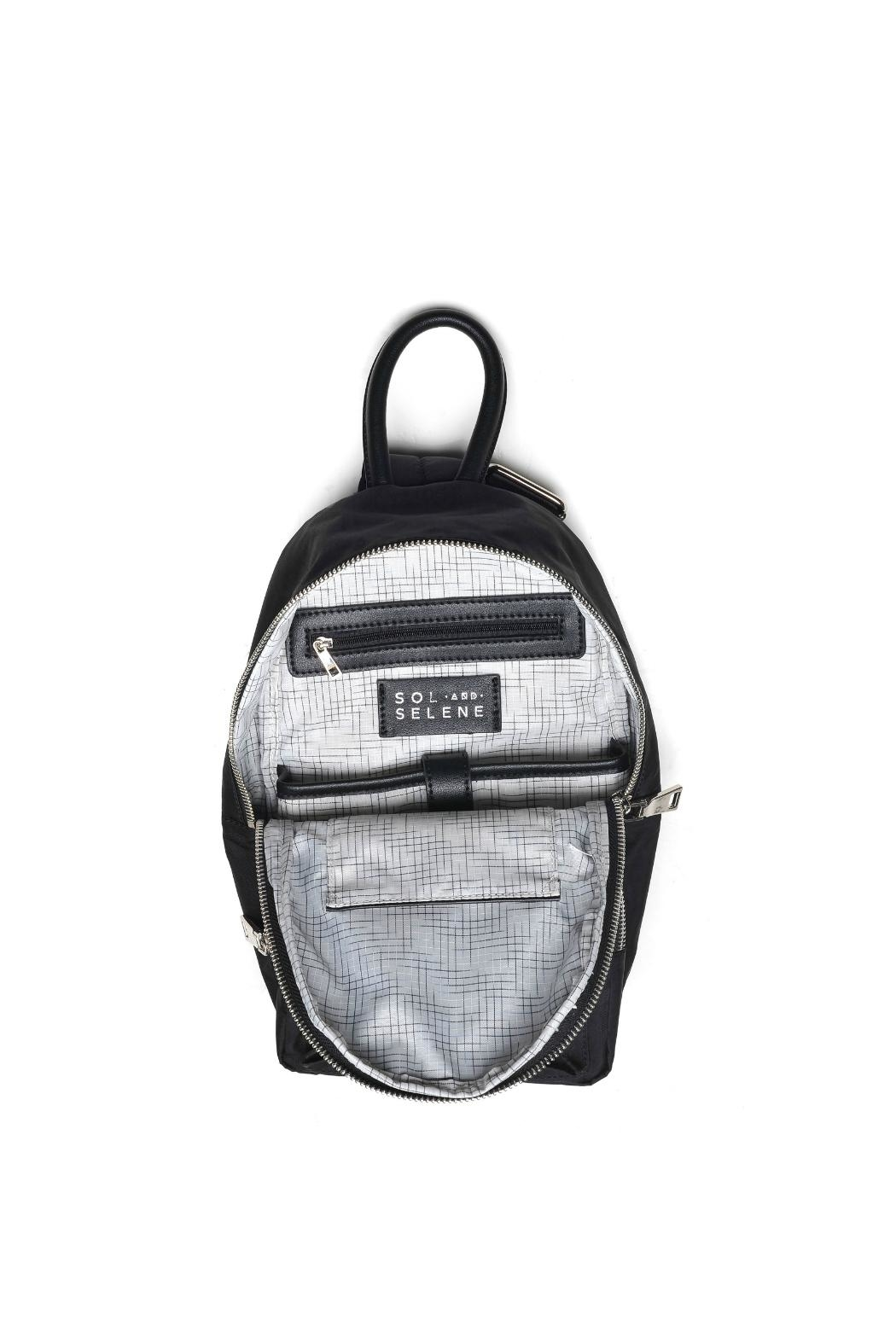 Sol and Selene Hustle Mini Backpack - Back Cropped Image