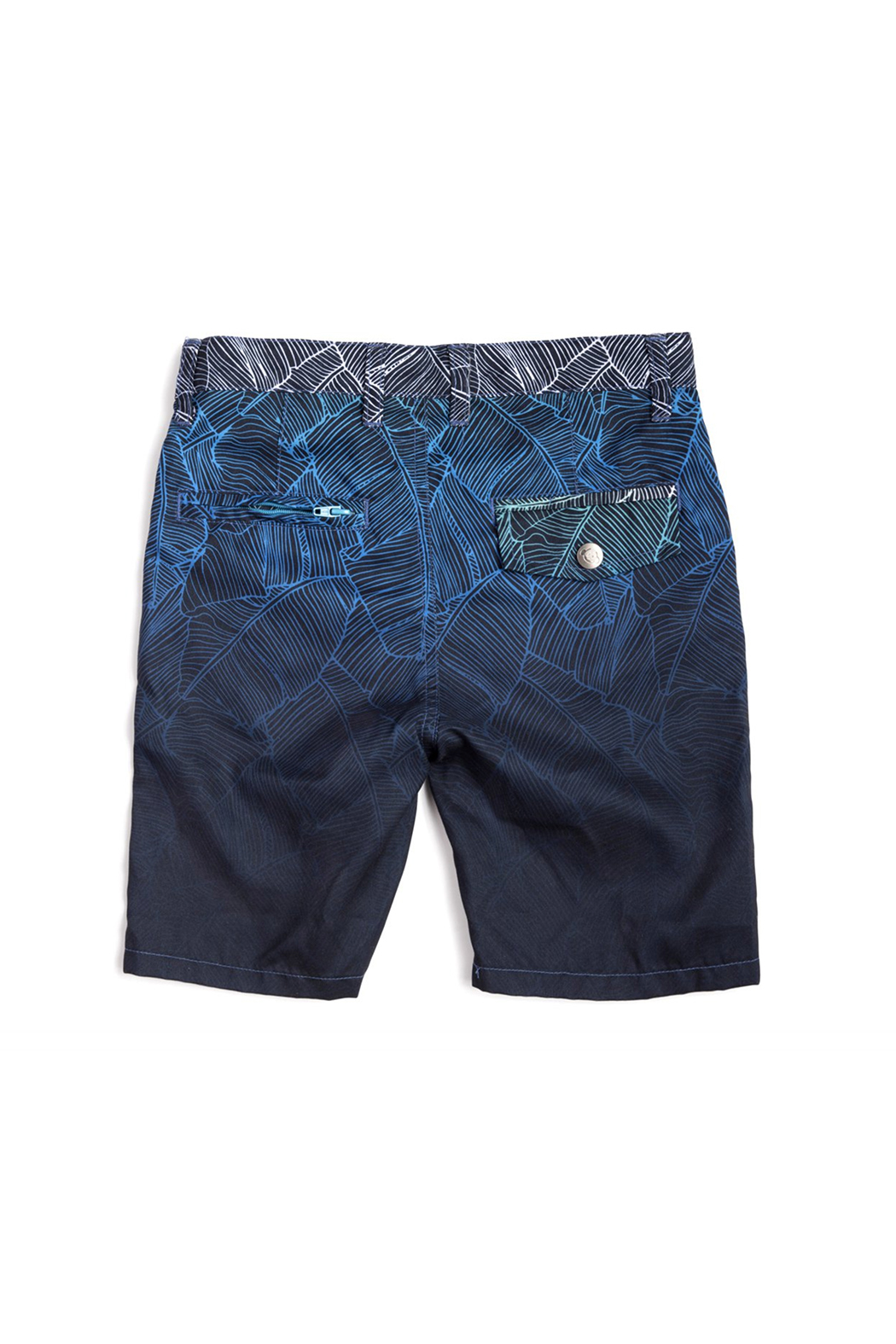 Appaman Hybrid Ombre Palms Shorts - Front Full Image