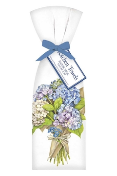 Mary Lake-Thompson Hydrangea Towel Set - Alternate List Image