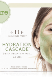 Farmhouse Fresh Hydration Cascade™ 3-step Instant Spa Facial - Product Mini Image