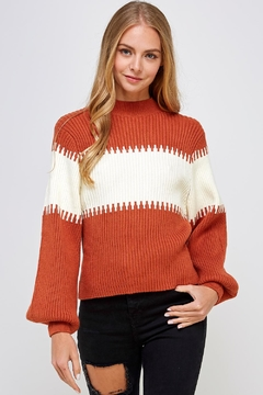 Shoptiques Product: Balloon Sleeve Sweater