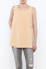 HYFVE Beige Sleeveless Top - Product Mini Image