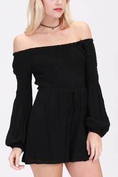 Shoptiques Product: Bell Sleeve Romper