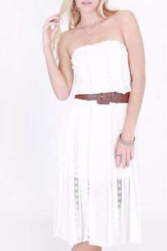 Shoptiques Product: Belted Lace Dress