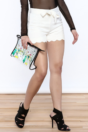 HYFVE Belted Scallop Shorts - Product Mini Image