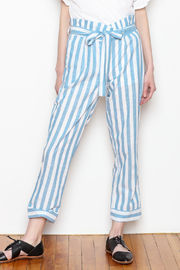 HYFVE Belted Stripe Pants - Product Mini Image