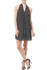HYFVE Black And White Dress - Front full body