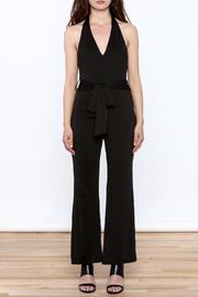 HYFVE Black Sleeveless Jumpsuit - Front cropped