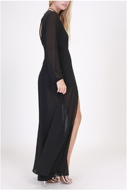 HYFVE Black Maxi Romper - Front full body