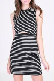 HYFVE Black Striped Dress - Product Mini Image