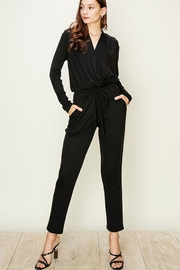 HYFVE Black Surplice Jumper - Product Mini Image