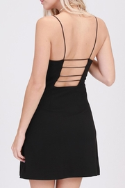 HYFVE Black Tank Dress - Product Mini Image