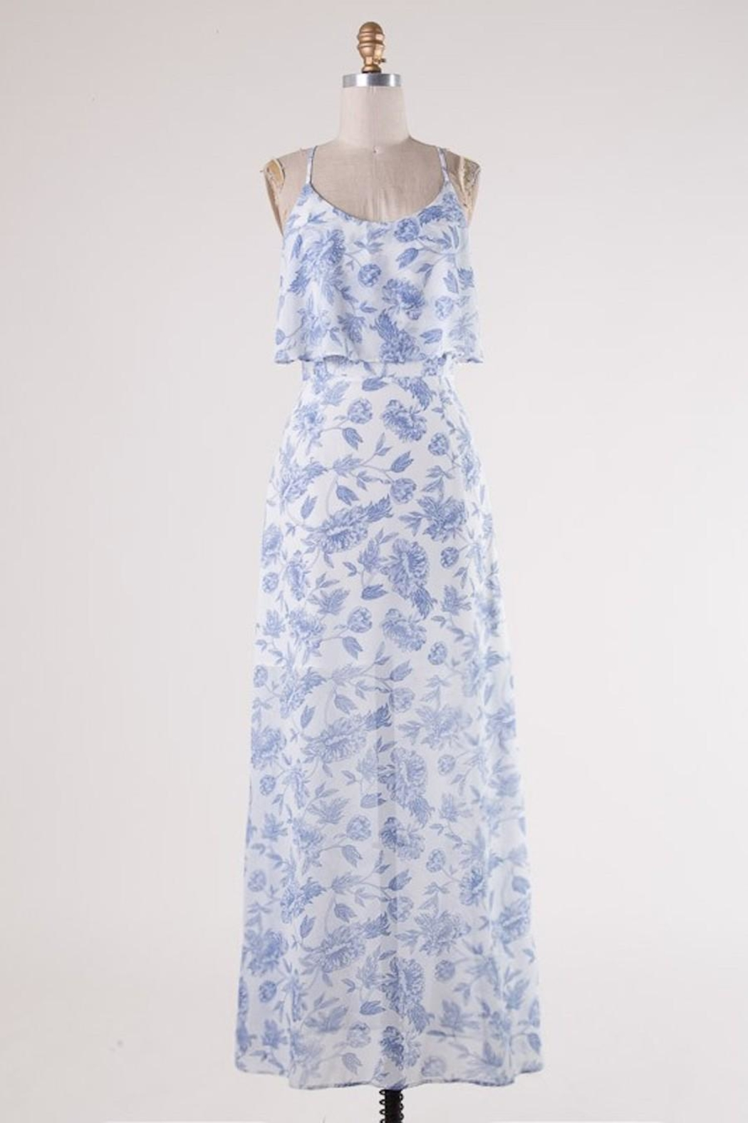 HYFVE Blue Floral Perfection - Front Cropped Image