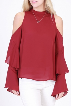 HYFVE Burgundy Blouse - Product List Image