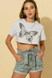 HYFVE Butterfy Crop Tee - Product Mini Image