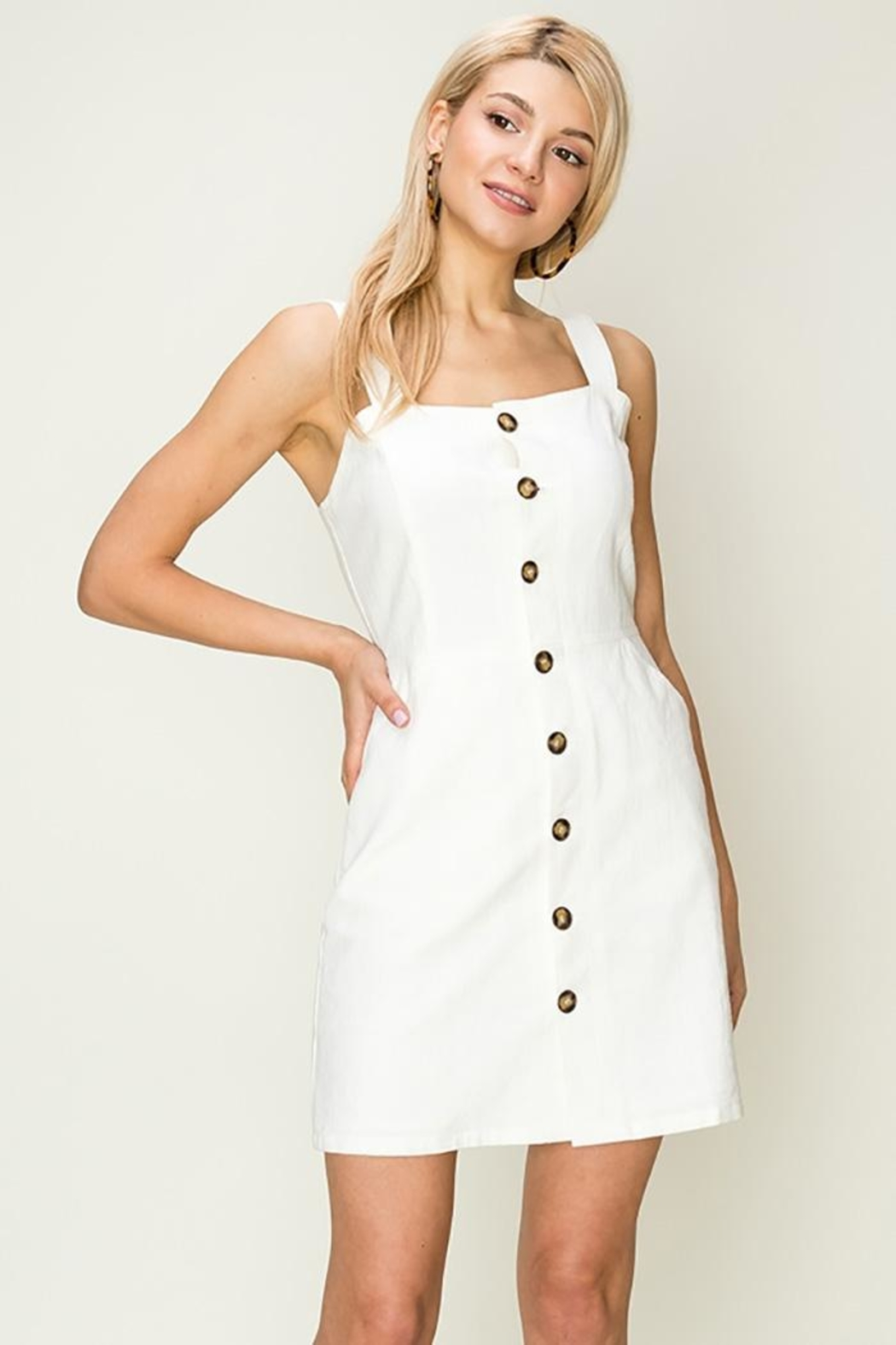 3942dcbcc2b5 HYFVE Button-Down Pocket Dress from New Jersey by Making Waves ...
