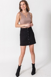HYFVE Button Up Skirt - Front cropped