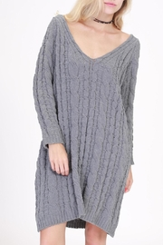 HYFVE Cable Knit Sweater Dress - Product Mini Image